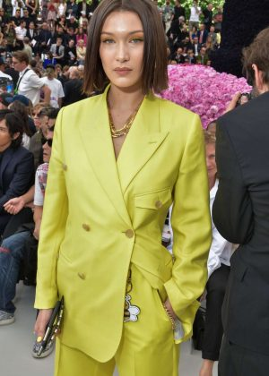 Bella Hadid - Dior Homme Show SS 2019 at Paris Fashion Week