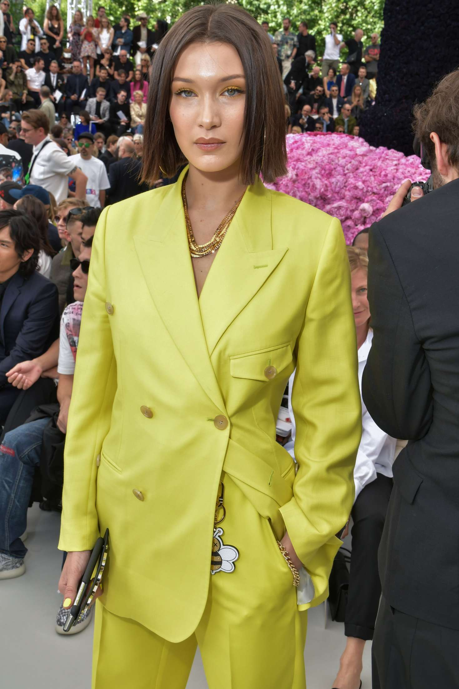 Bella Hadid – Dior Homme Show SS 2019 at Paris Fashion Week