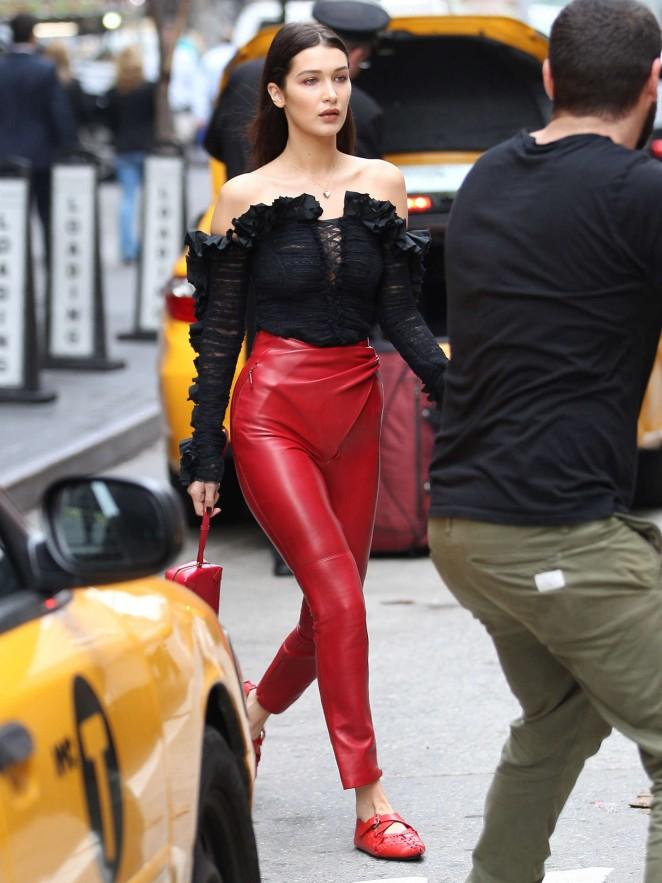 Bella Hadid: Doing a photoshoot -27