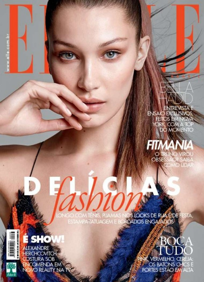 Bella Hadid – Elle Brazil Cover (February 2016)