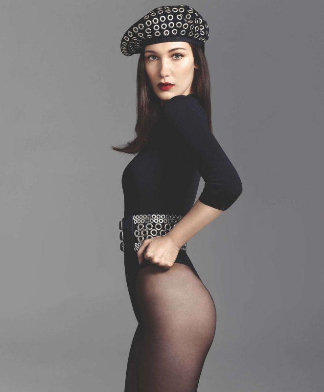 Bella Hadid - ELLE Magazine (June 2016) adds