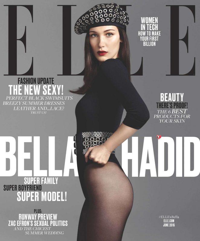 Bella Hadid: ELLE Magazine 2016 -03