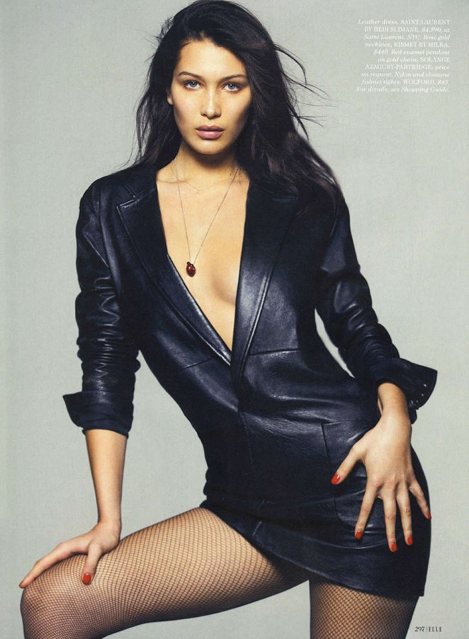 Bella Hadid - Elle Magazine (May 2015)