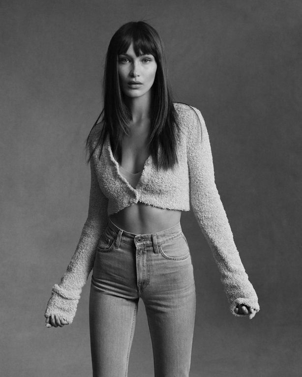 Bella Hadid - Ethan James Green for Helmut Lang's Pre-Fall 2020 Campaign (July 2020)