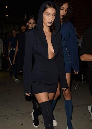 Bella Hadid - Fashion DKNY Spring 2017 Show in NYC