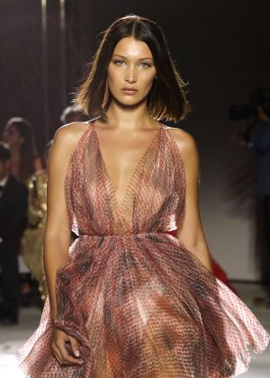 Bella Hadid - Fashion for Relief Charity Gala Runway Show in Cannes