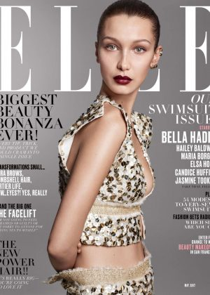 Bella Hadid for ELLE US Cover (May 2017)