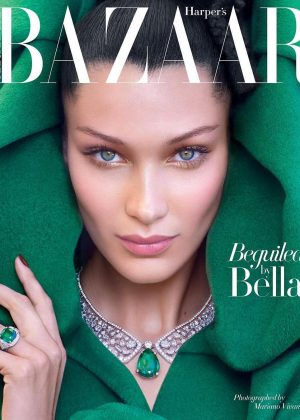 Bella Hadid for Harper's Bazaar Arabia (October 2018)