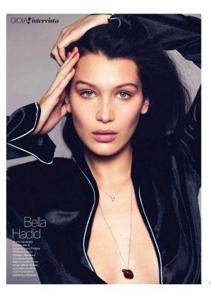 Bella Hadid - Gioia! Magazine (March 2018)