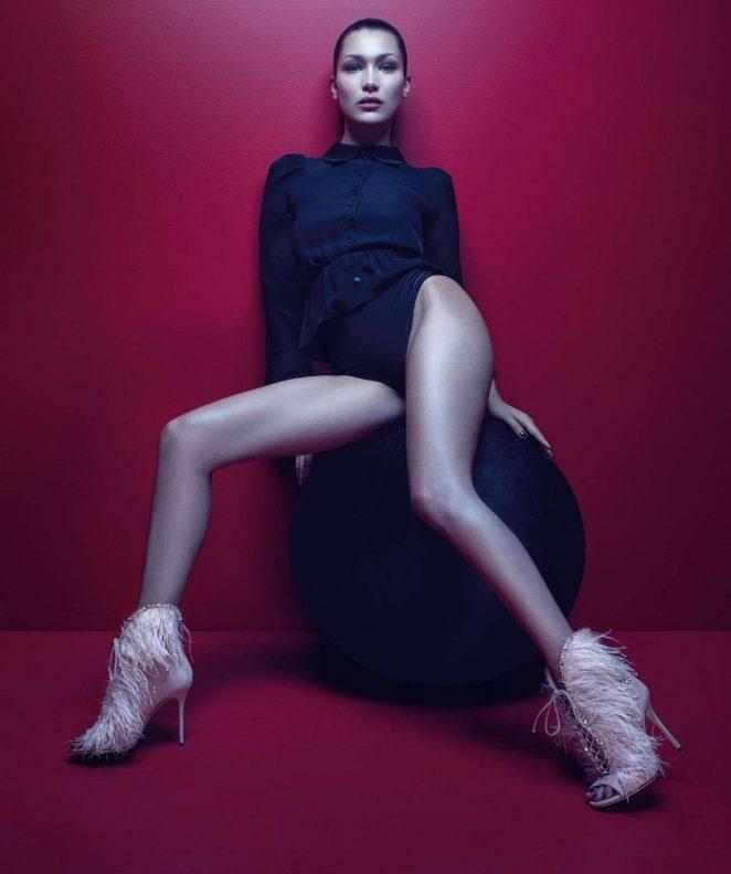 Bella Hadid - Giuseppe Zanotti Fall 2017 Campaign