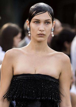 Bella Hadid - Givenchy Spring/Summer 2017 Paris Fashion Week in Paris