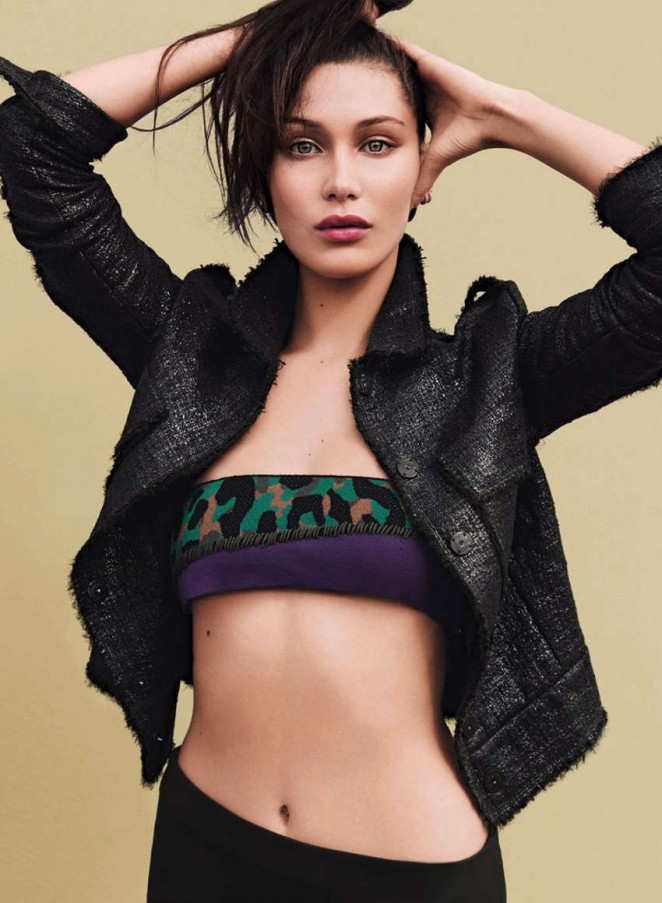 Bella Hadid Glamour Germany Magazine May 2016 Gotceleb