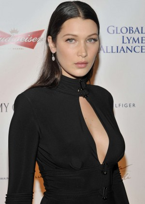 Bella Hadid - Global Lyme Alliance 'Uniting for a Lyme-Free World' Gala in NYC