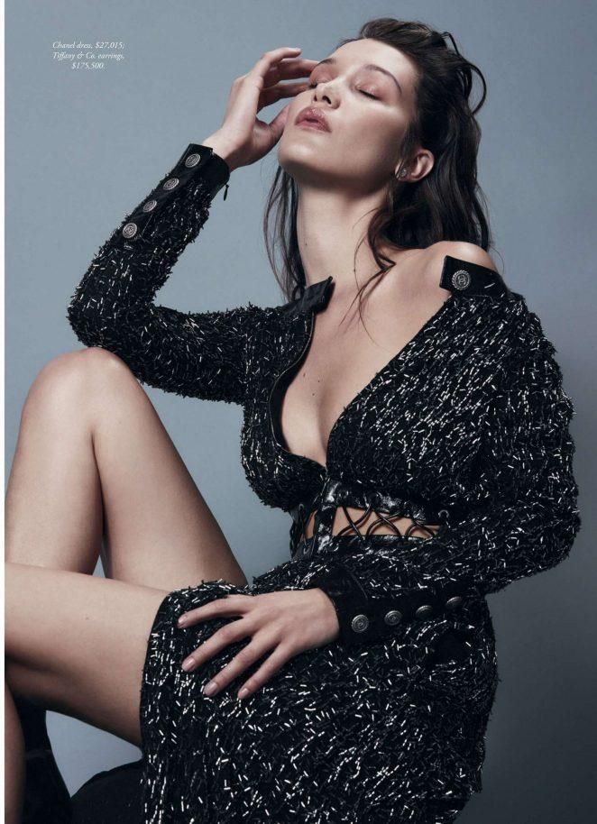 Bella Hadid - Harpers Bazaar Australia (August 2016)