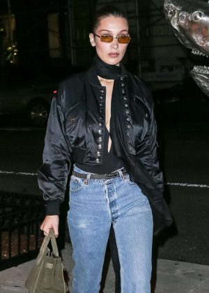 Bella Hadid - Heads out to Cipriani in NYC