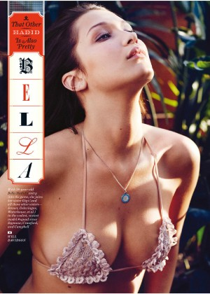 Bella Hadid in GQ Magazine (September 2015)