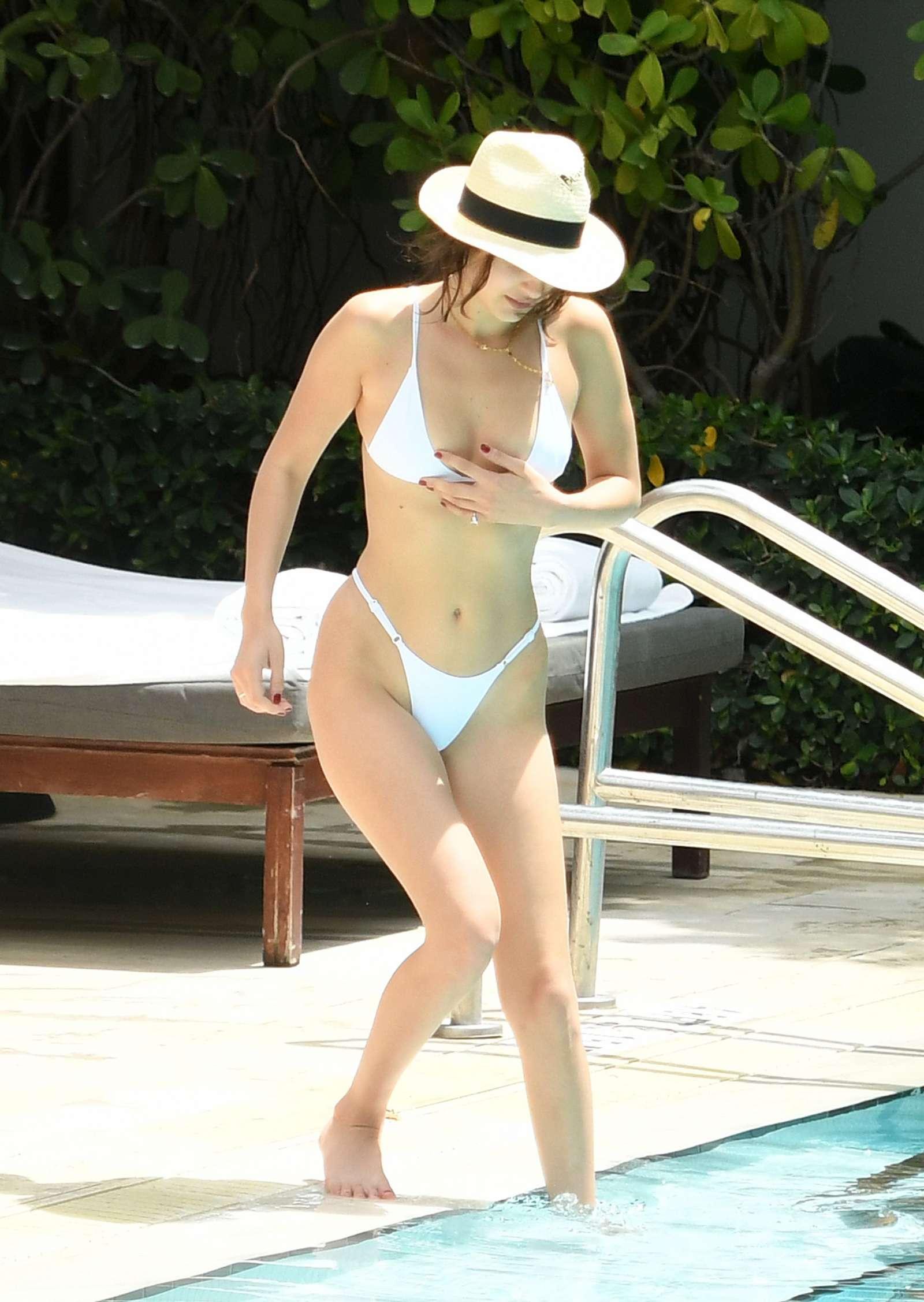 In White Bikini