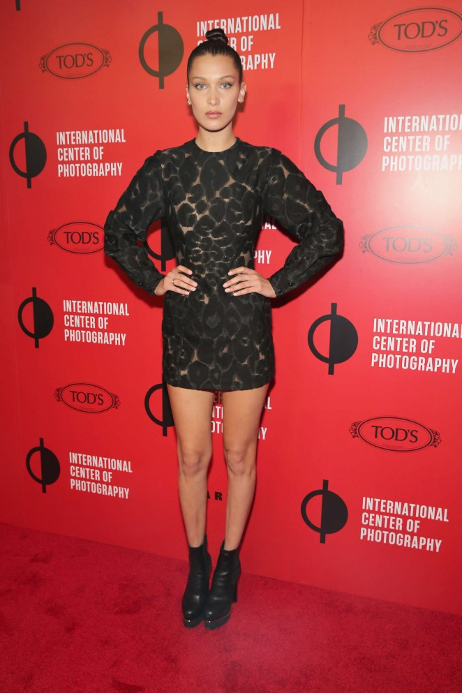 Bella Hadid - International Center of Photography's 2016 Infinity Awards in NYC