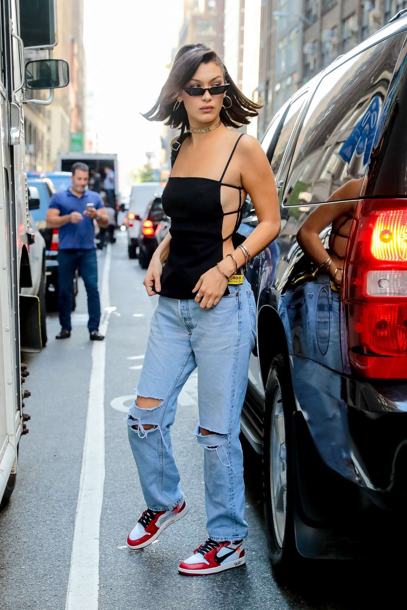 Bella Hadid - Is Seen Out in NYC