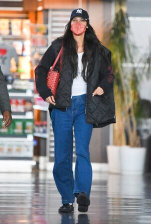 Bella Hadid - Is spotted as she arrives at JFK Airport in New York