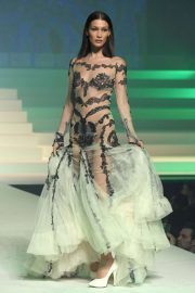 Bella Hadid - Jean-Paul Gaultier Runway Show in Paris
