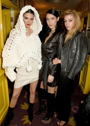 Bella Hadid, Kendall Jenner & Stella Maxwell - Love Me 17 X Burberry Party in London