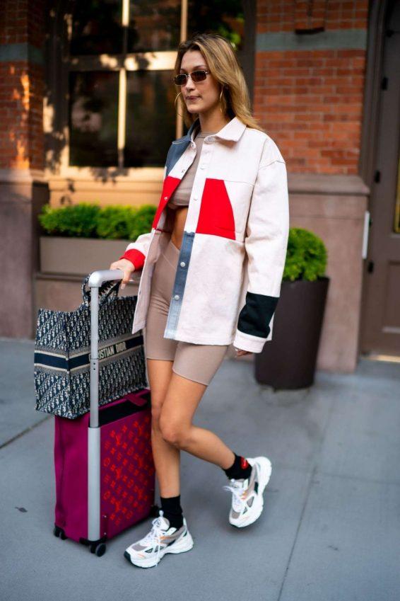 Bella Hadid 2019 : Bella Hadid – Leaves her hotel in Tribeca-02