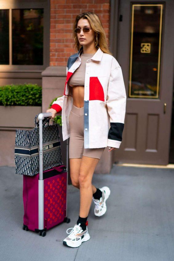Bella Hadid 2019 : Bella Hadid – Leaves her hotel in Tribeca-14