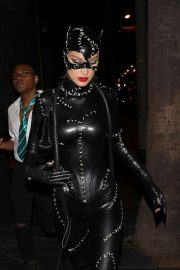 Bella Hadid - Leaves Kendall Jenner's 24th birthday party in West Hollywood