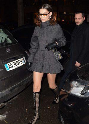 Bella Hadid - Leaves Royal Monceau Hotel in Paris
