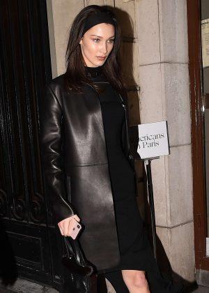 Bella Hadid - Leaves Vogue Party in Paris