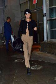 Bella Hadid - Leaving a studio in New York City