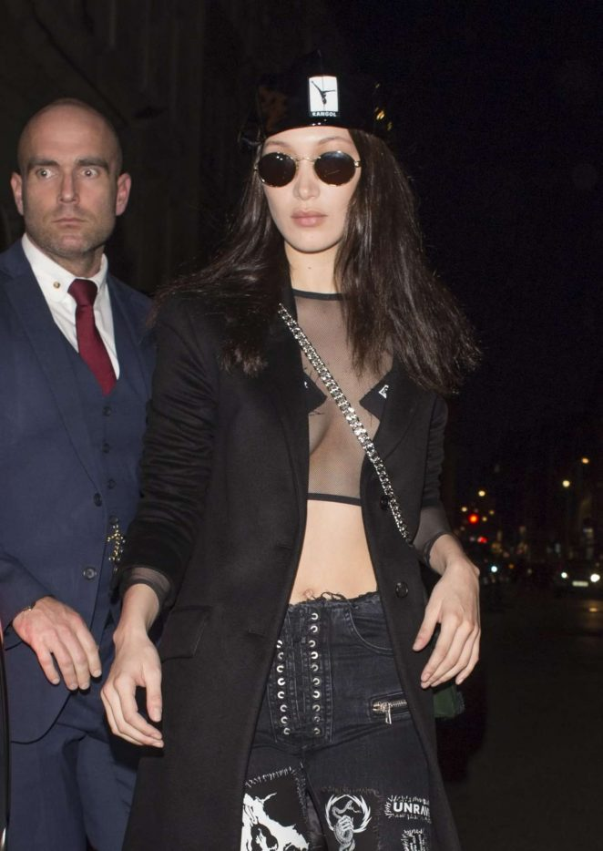 Bella Hadid - Leaving her hotel in London