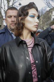 Bella Hadid - Leaving the Miu Miu show at 2020 Paris Fashion Week Womenswear F-W 20-21