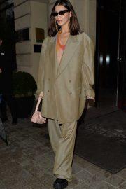 Bella Hadid - Lleaving her hotel in Paris