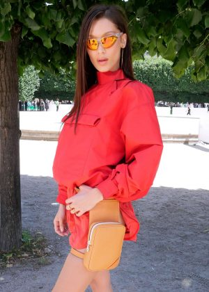 Bella Hadid - Louis Vuitton Show SS 2019 at Paris Fashion Week
