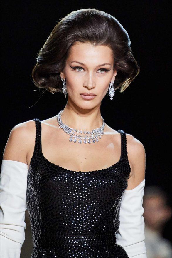 Bella Hadid - Marc Jacobs efterår Runway Show efter 2020 i New York Fashion Week