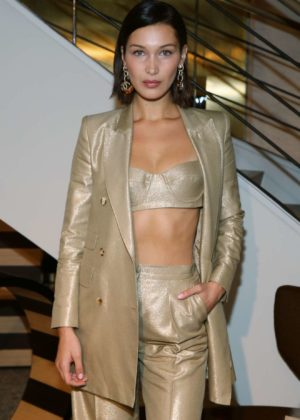 Bella Hadid - Max Mara boutique reopening Spring-Summer 2018 New York Fashion Week