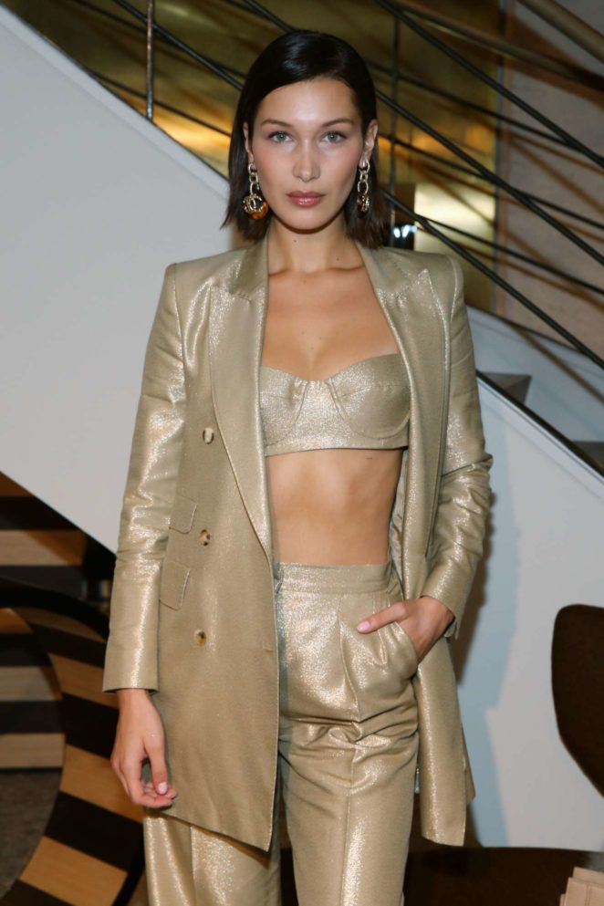 Bella Hadid: Max Mara boutique reopening Spring-Summer 2018 New York Fashion Week-08