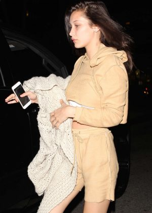 Bella Hadid Night Out in Hollywood