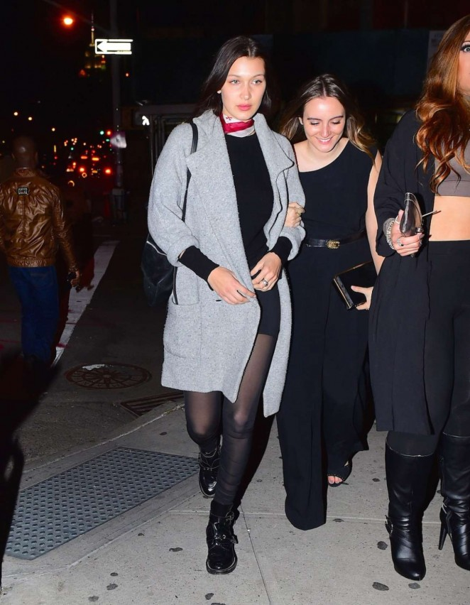 Bella Hadid Night Out in Soho -05