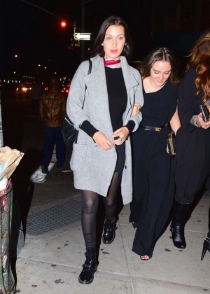 Bella Hadid Night Out in Soho