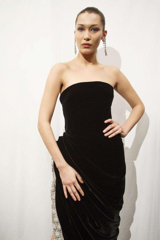 Bella Hadid - Oscar De La Renta Show at 2017 NYFW in New York