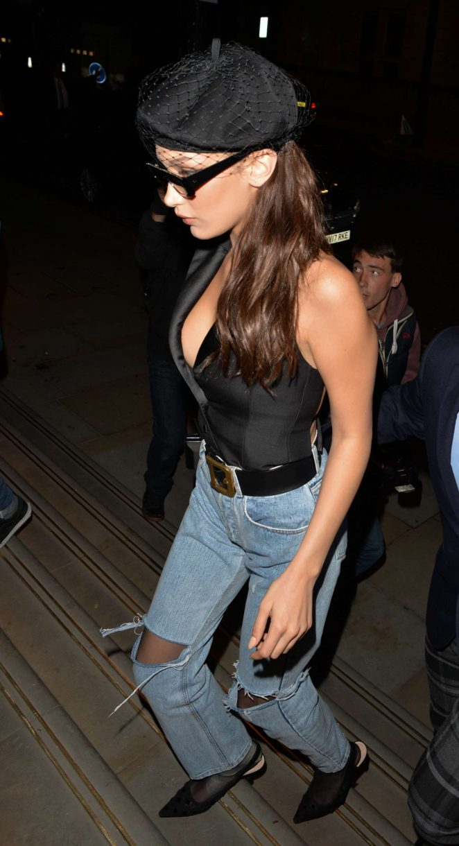 Bella Hadid – Out and about in London