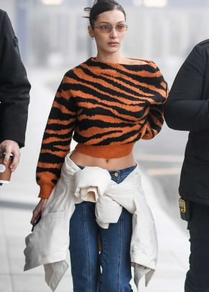 Bella Hadid - Out and about in Milan