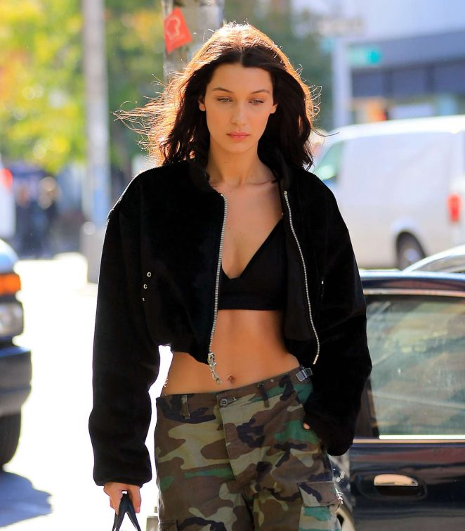 Bella Hadid - Out and about in New York City