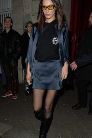 Bella Hadid - Out and about in Paris
