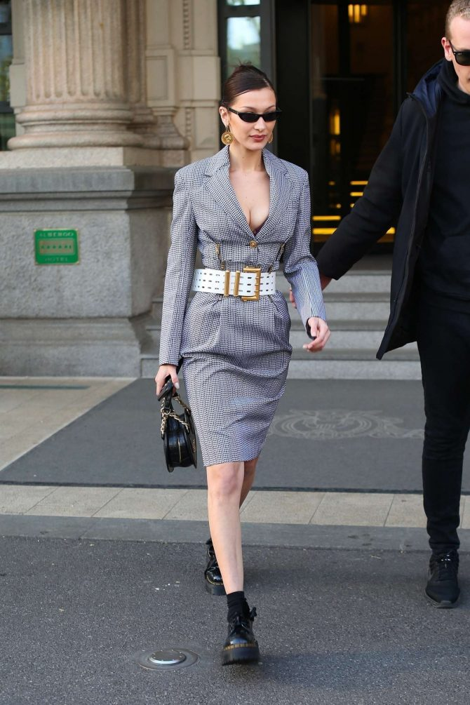Bella Hadid – Out in Milan