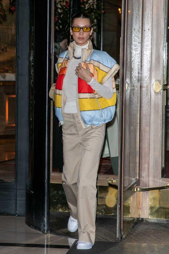 Bella Hadid - Out in Paris