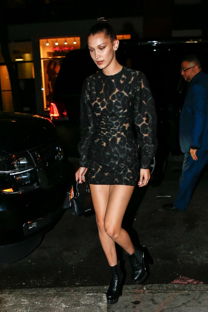 Bella Hadid – Pencils of Promise Event in NYC